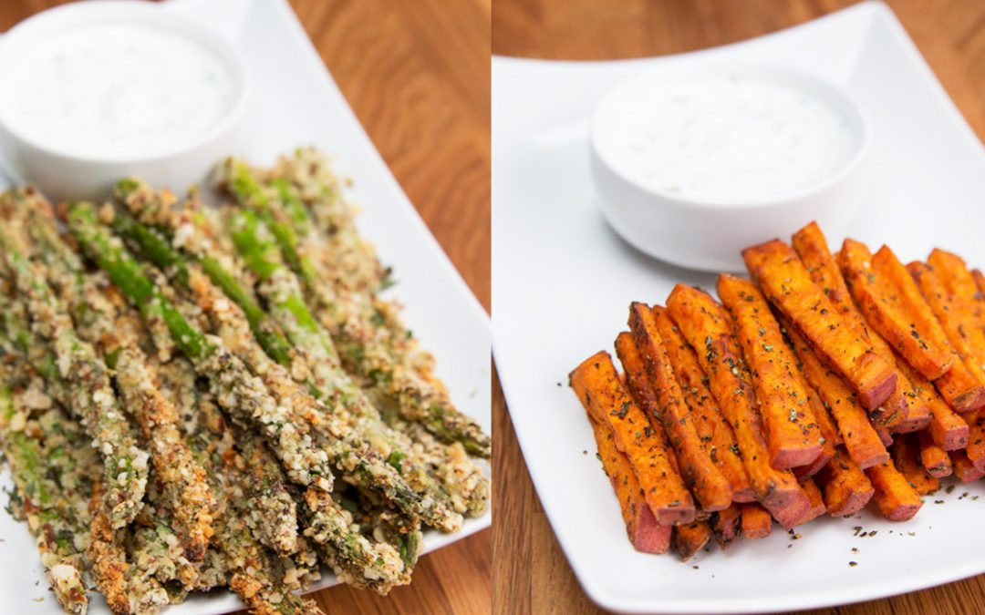 Veggie fries, una alternativa saludable a las papas fritas