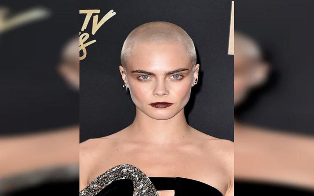 "MTV Movie Awards: Cara Delevingne, la más transgresora con un ""hair tattoo"""