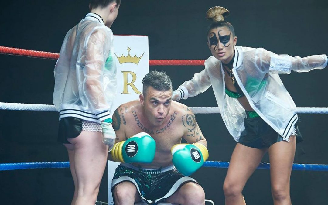 'The Heavy Entertainment Show' Robbie Williams se inspira en el boxeador Anthony Joshua