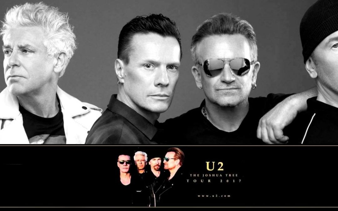 "¡Confirmado! U2 llega a la Argentina con ""The Joshua Tree Tour 2017"""
