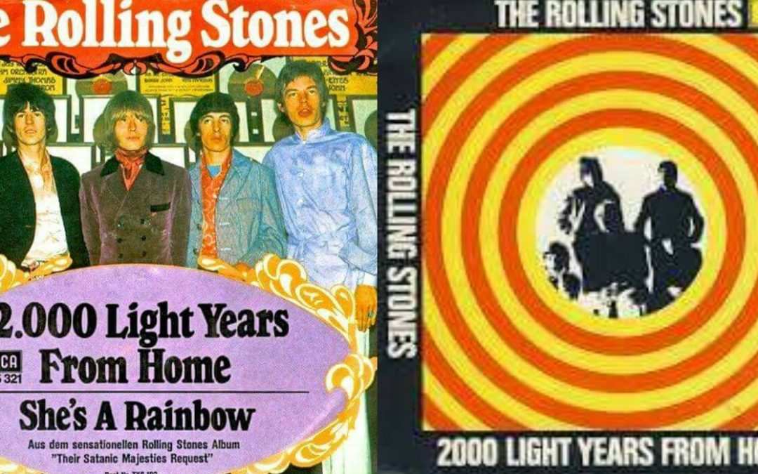"Los Rolling Stones lanzan el vídeo de ""2000 Light Years From Home"""