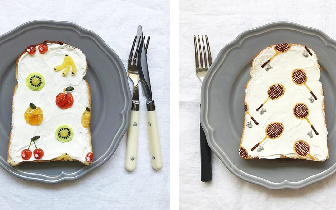 Toast Food Styling