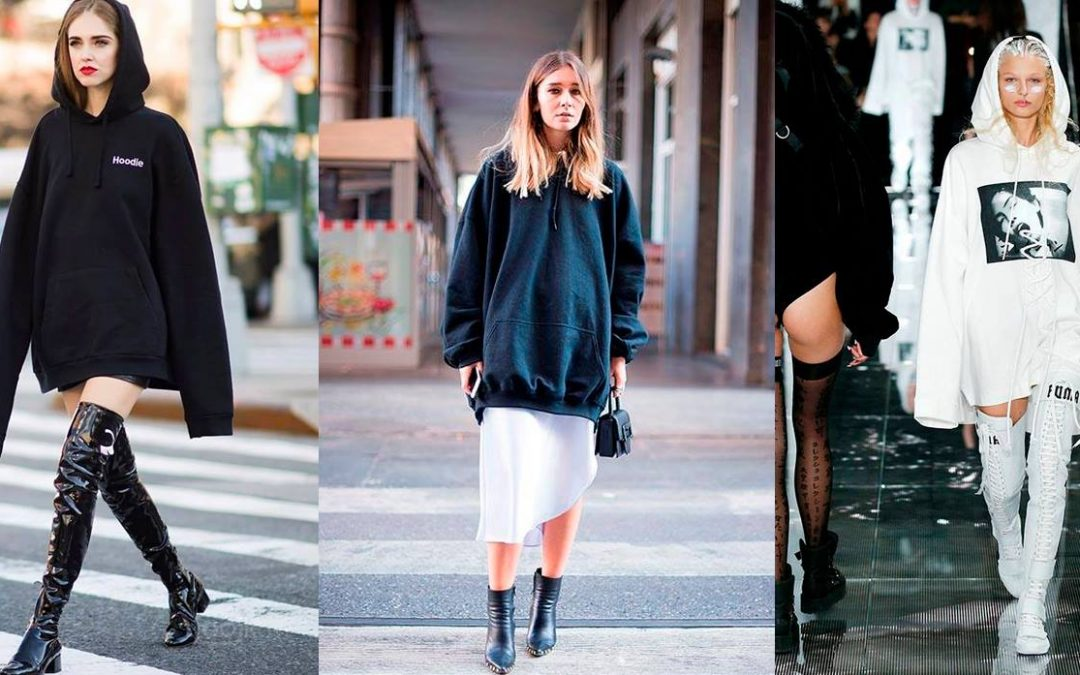 """Hoodies"" y ""Hooties"", tendencia del ""sporty chic"""