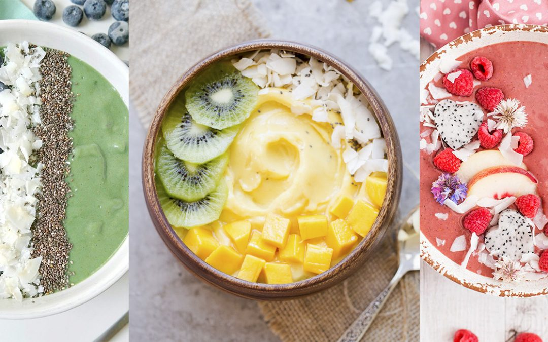 Smoothie bowls: empezá el día con color