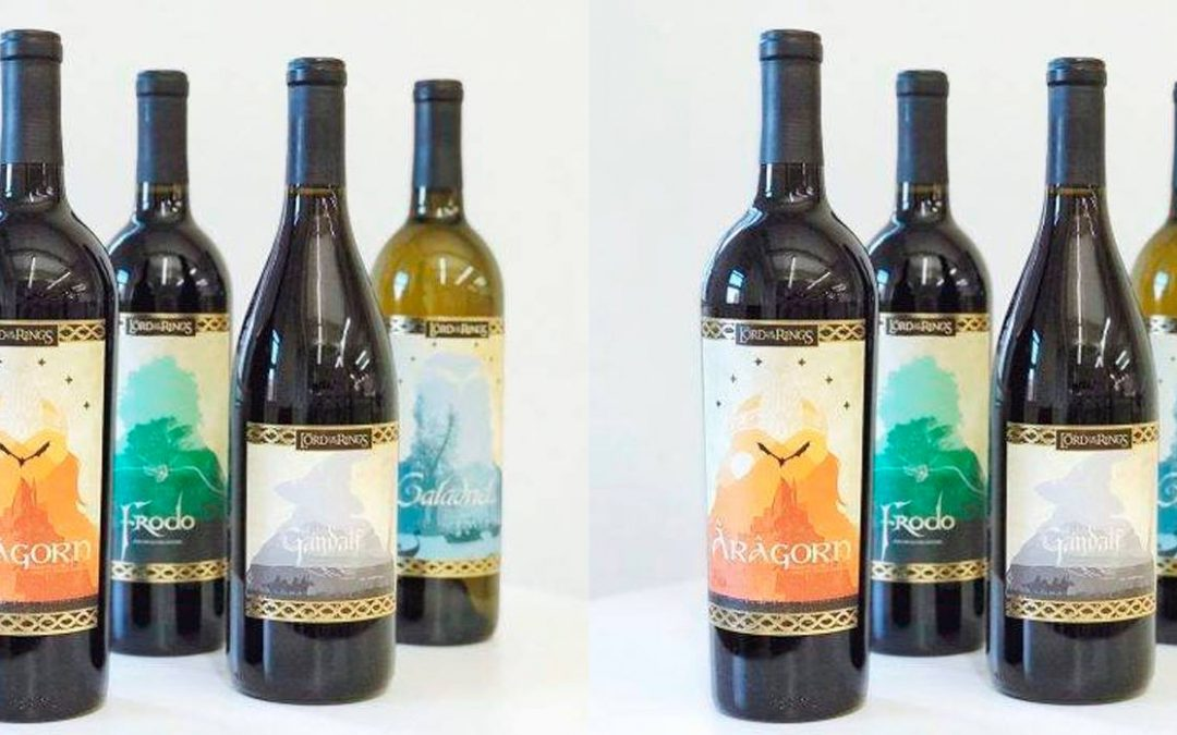 Lord of the Rings lanza una creativa colección de vinos