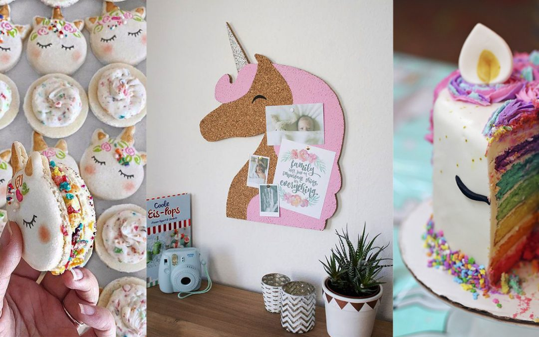 ¡Fiebre multicolor! Incorporate a la tendencia unicornio