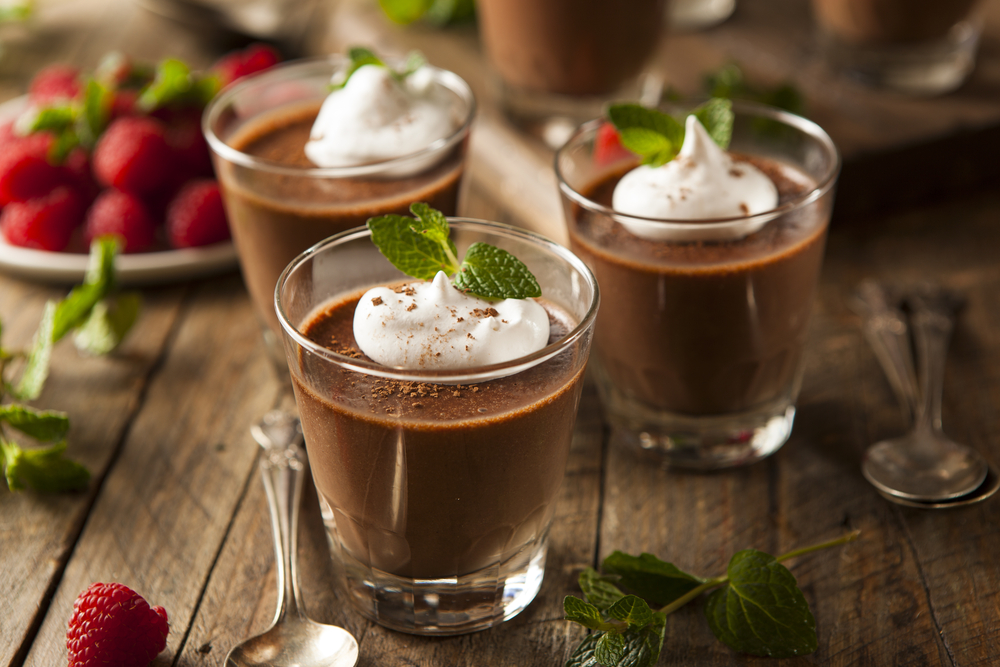 Mousse de Chocolate, pura dulzura