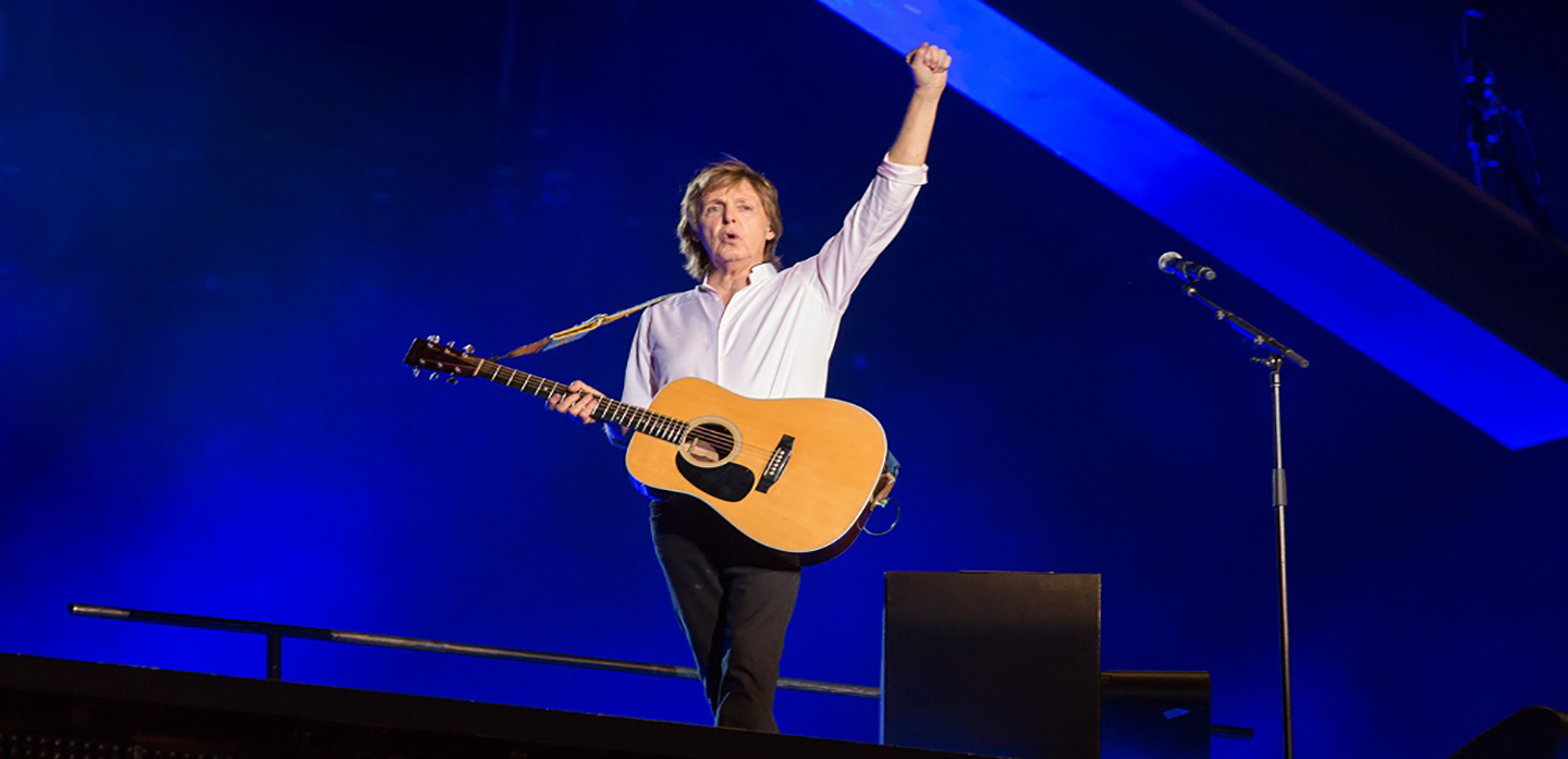Mandatory Credit: Photo by Benjamin Lozovsky/BFA.com/REX/Shutterstock (4917701g) Sir Paul McCartney Lollapalooza - Day One, Grant Park, Chicago, America - 31 Jul 2015