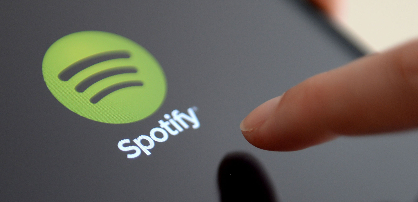 File photo dated 11/06/14 of the Spotify App an Apple iPad, as award-winning Ed Sheeran has supported the levels of payments made to artists by streaming service Spotify and pointed the finger at record labels for poor returns.