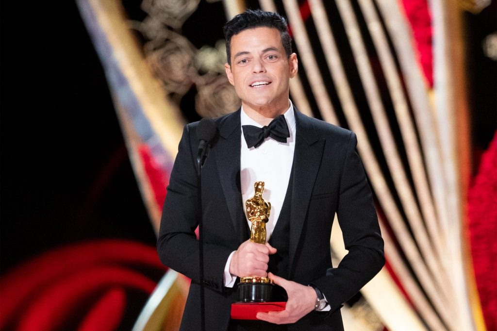 THE OSCARS® - The 91st Oscars® broadcasts live on Sunday, Feb. 24, 2019, at the Dolby Theatre® at Hollywood & Highland Center® in Hollywood and will be televised live on The ABC Television Network at 8:00 p.m. EST/5:00 p.m. PST. (ABC/Craig Sjodin) RAMI MALEK