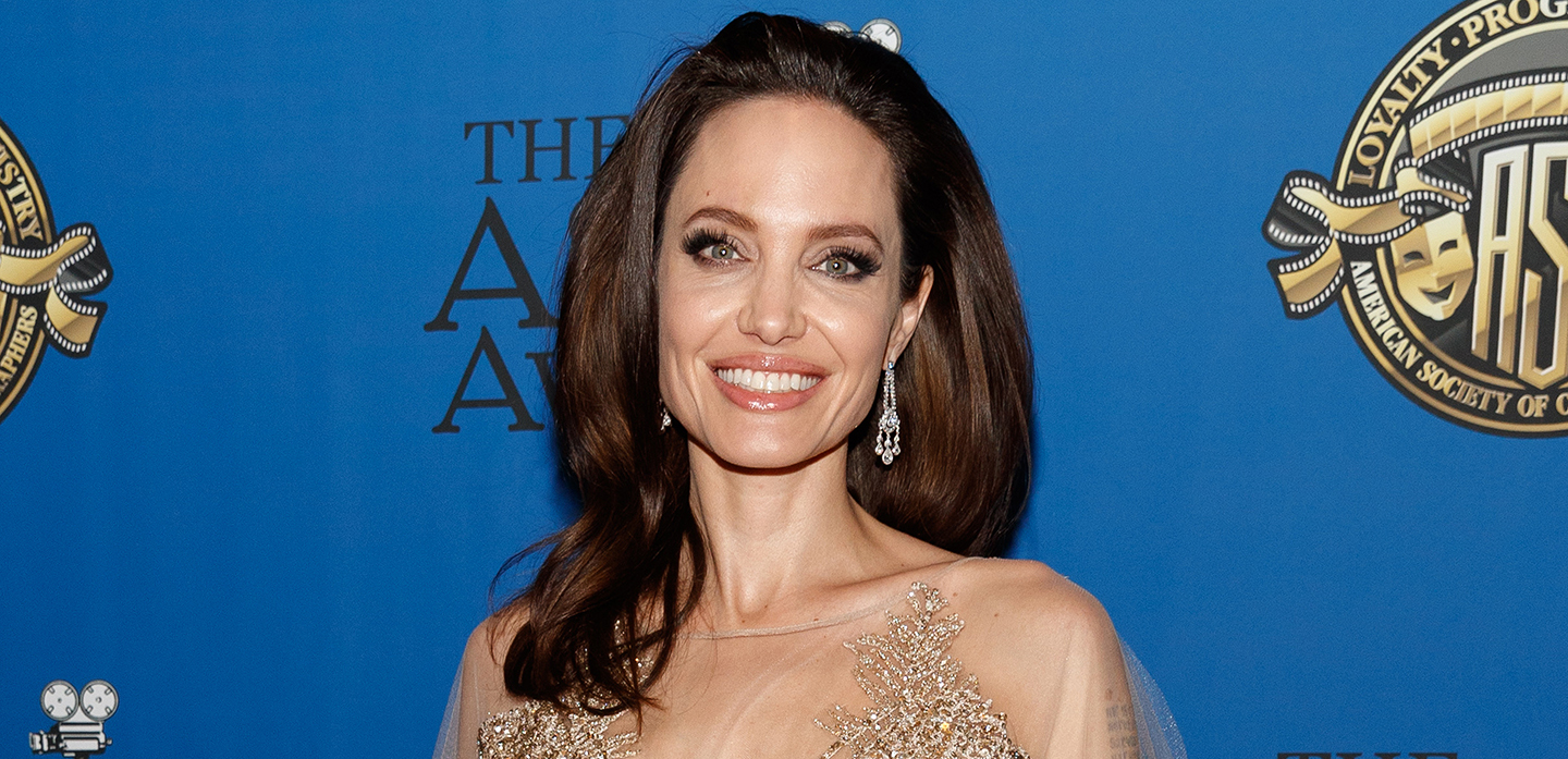 HOLLYWOOD, CA - FEBRUARY 17:  Actor/director Angelina Jolie attends the 32nd Annual American Society Of Cinematographers Awards at The Ray Dolby Ballroom at Hollywood