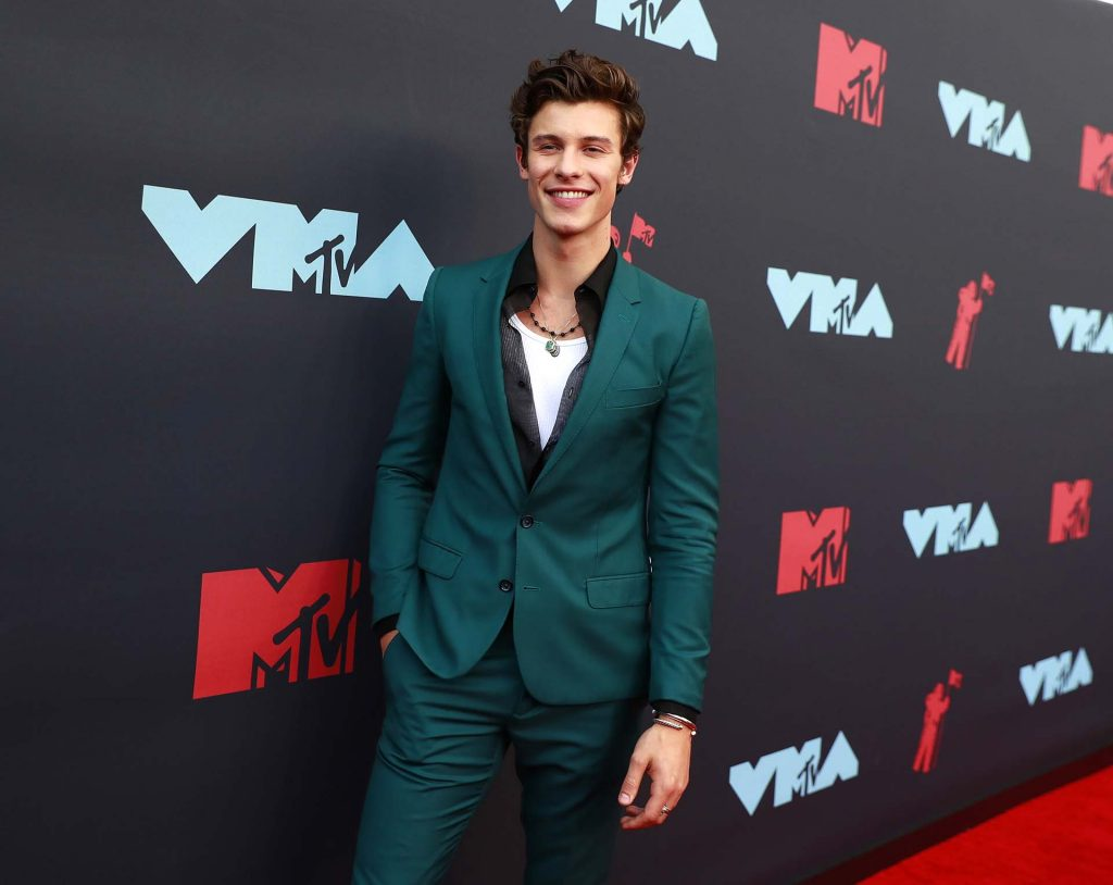 2019 MTV Video Music Awards - Arrivals - Prudential Center, Newark, New Jersey, U.S., August 26, 2019 - Shawn Mendes. REUTERS/Andrew Kelly