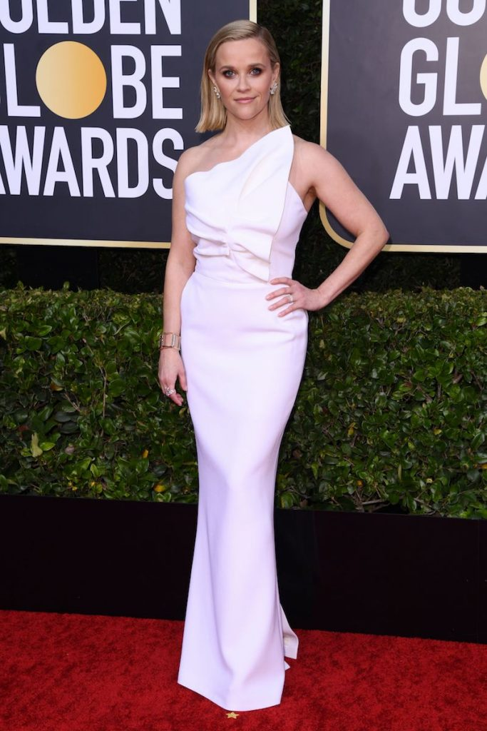 Mandatory Credit: Photo by Shutterstock (10517026gg) Reese Witherspoon 77th Annual Golden Globe Awards, Arrivals, Los Angeles, USA - 05 Jan 2020