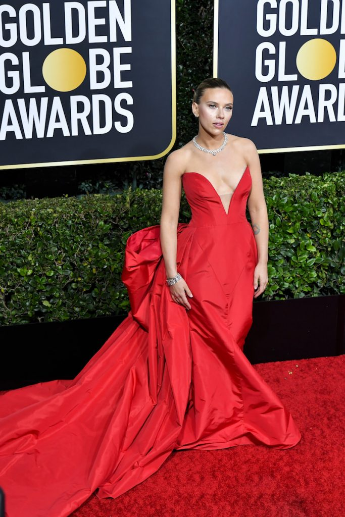 Mandatory Credit: Photo by Rob Latour/Shutterstock (10517020je) Scarlett Johansson 77th Annual Golden Globe Awards, Arrivals, Los Angeles, USA - 05 Jan 2020