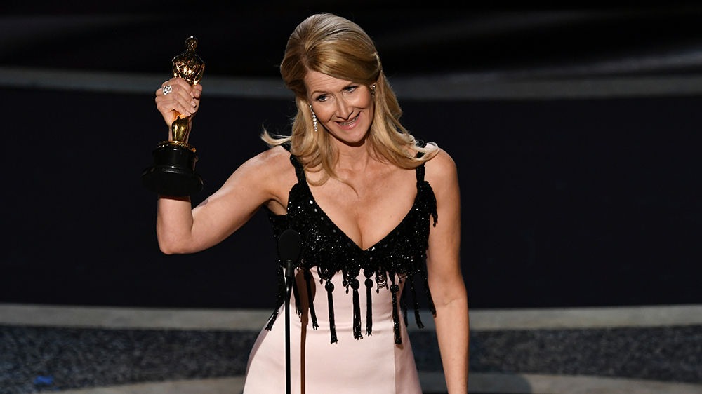 Mandatory Credit: Photo by Rob Latour/Shutterstock (10548150fa) Laura Dern - Supporting Actress - Marriage Story 92nd Annual Academy Awards, Show, Los Angeles, USA - 09 Feb 2020