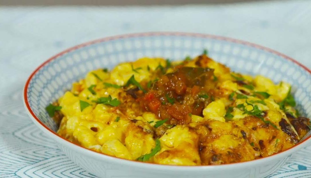 Mac and cheese con bolognesa
