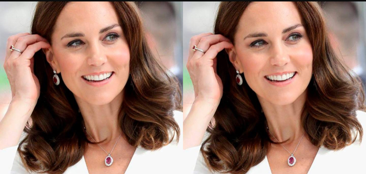 Kate Middleton anticipó sus looks navideños